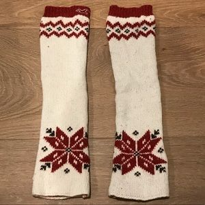 Hollister arm warmers